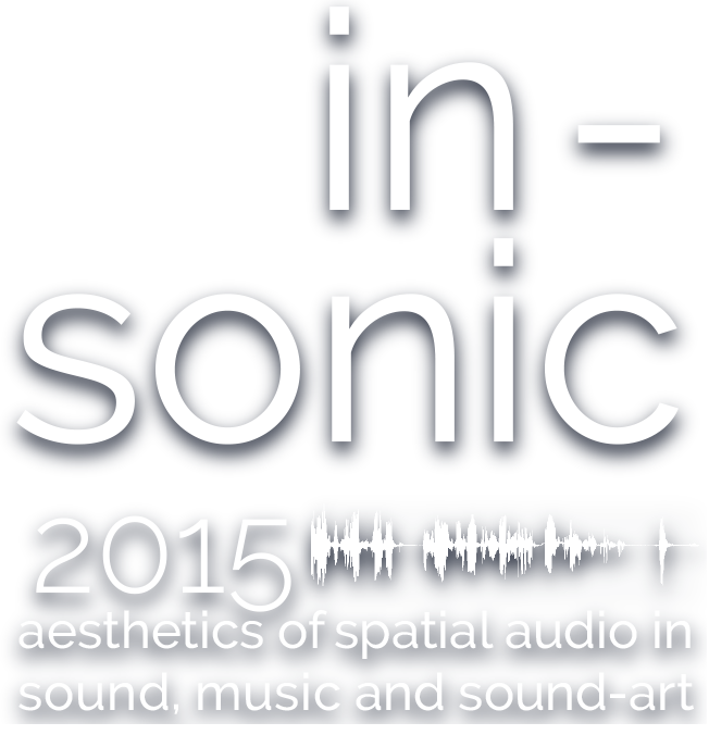 inSonic2015 - aesthetics of spatial audio in sound, music and sound-art